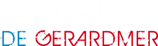 Logo Triathlon vecto titre blanc